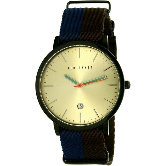 5d97598793565 Ted Baker 10026451 Men s Two Tone Nylon Band